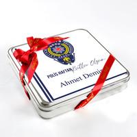 10 Nisan Polis Haftasına Özel (32 Adet Madlen Çikolata) Metal Kutu - Thumbnail