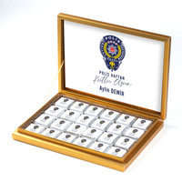 - 10 Nisan Polis Haftasına Özel 48 Adet Madlen Çikolata (Gold Kutu) Polise Hediye