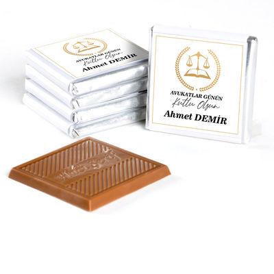 5 Nisan Avukatlar Gününe Özel (32 Adet Madlen Çikolata) Metal Kutu