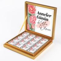 - Anneler Günü Hediyesi 32 Madlen Çikolata (Gold Kutu) Model:1