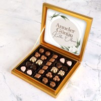 Hacı Şerif - Anneler Günü Hediyesi Special Çikolata 285g Gold Kutu Model:2
