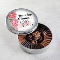 Hacı Şerif - Anneler Günü Hediyesi Sütlü-Bitter Roş + Madlen Çikolata