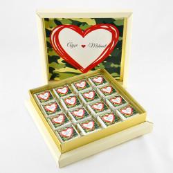 Hacı Şerif - Asker Çikolatası (32 Adet Madlen)