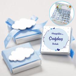 - Aynalı Bulut Erkek Bebek Çikolatası (Antep Fıstıklı Çikolata)