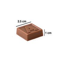 Babaların En Tatlısı Harf Çikolata (22 Adet ) Babaya Hediye - Thumbnail