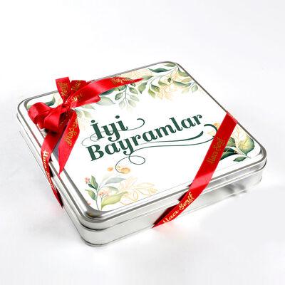 Bayram Hediyesi (32 Adet Madlen Çikolata) Metal Kutu