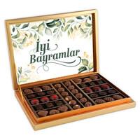 Hacı Şerif - Bayram Hediyesi (Special Çikolata 480g) Gold Kutu