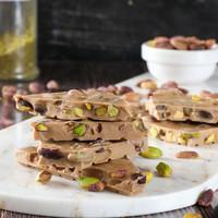 Hacı Şerif - Karamelli Beyaz Çikolata Antep Fıstıklı Çikolata 250g