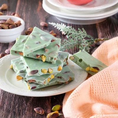 Bayramyeri Kırık Limonlu Antep Fıstıklı Çikolata 250g