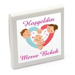 Kız Bebek İnce Kesim Lokum Adet - Thumbnail