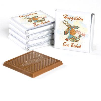 Burçlara Özel Bebek Çikolatası (70 Adet Madlen Çikolata)