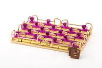 - Çiçekli İsme Özel Söz-Nişan Çikolatası