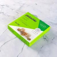 Çifte Kavrulmuş Antep Fıstıklı Lokum (250 g)- Renkli Kutu - Thumbnail