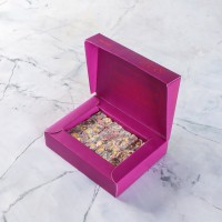 Hacı Şerif - Çifte Kavrulmuş Antep Fıstıklı Narlı Lokum (125 g)- Renkli Kutu