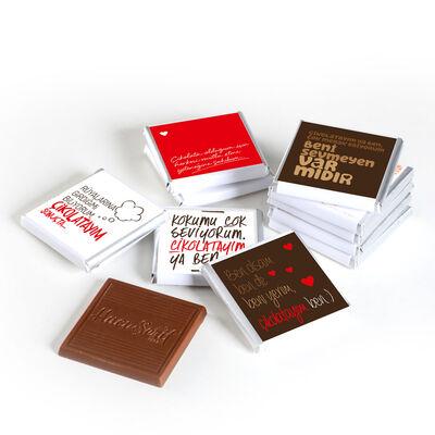 Çikolata Paketi 32'li Madlen Çikolata (Gold Kutu)