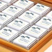 Damat Bohçası 32 Adet Madlen Çikolata (Gold Kutu) - Thumbnail