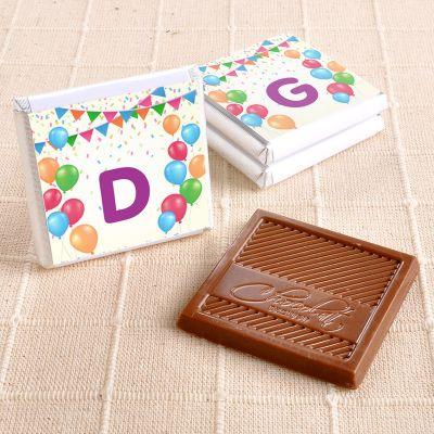 Doğum Günü Hediyesi 24 Adet Madlen Çikolata ( Gold Kutu)
