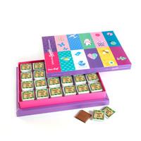 - Erkek Bebek Çikolatası Renkli Kutu (72 Madlen Çikolata + Sunum Kutusu)