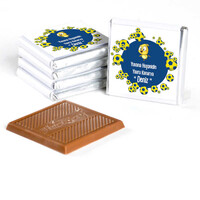 Erkek Bebek Dökme Bebek Çikolatası (70 Adet Madlen Çikolata) - Thumbnail