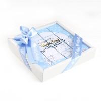 - Etiket Baskılı Puzzle Erkek Bebek Lokumu ( 16 Adet )