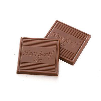 Etiket Baskılı Söz-Nişan Çikolatası (Metal Yuvarlak Kutu) 70 Madlen Çikolata + Afiş