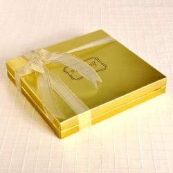 Fotoğraflı 32 Madlen Çikolata 220g Gold Kutu - Thumbnail