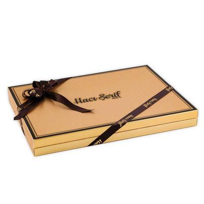 Fotoğraflı 5 Nisan Avukatlar Gününe Özel 48 Adet Madlen Çikolata (Gold Kutu) Avukata Hediye