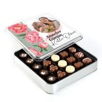 - Fotoğraflı Anneler Günü Hediyesi Special Çikolata (Metal Kutu) Model:1