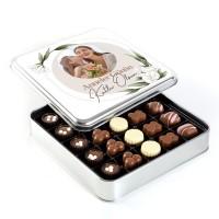 - Fotoğraflı Anneler Günü Hediyesi Special Çikolata (Metal Kutu) Model:2