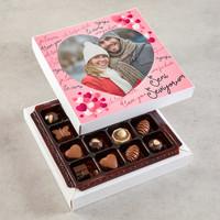 Hacı Şerif - Fotoğraflı Sevgiliye Hediye Özel Special Çikolata (160g)