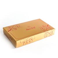 Geleneksel Cevizli - Bademli Şam Tatlısı (1500g Gold Kutu) - Thumbnail