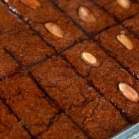 Geleneksel Cevizli - Bademli Şam Tatlısı (3000g Tepsili) - Thumbnail