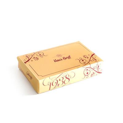 Geleneksel Cevizli - Bademli Şam Tatlısı (750g Gold Kutu)