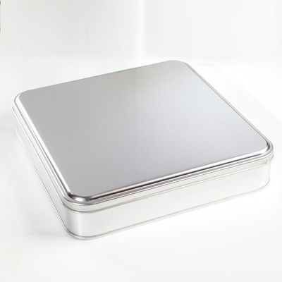 Geleneksel Cevizli - Bademli Şam Tatlısı Metal Kutu