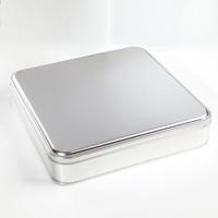 Geleneksel Bademli Şam Tatlısı Metal Kutu - Thumbnail