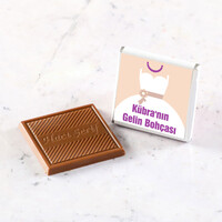Gelin Bohçası Dökme Çikolata (70 Madlen Çikolata) - Thumbnail