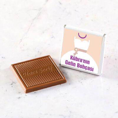 Gelin Bohçası Dökme Çikolata (70 Madlen Çikolata)