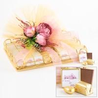 Hacı Şerif - Gold Tepside Söz-Nişan-Nikah Çikolatası