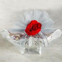 Hacı Şerif - Gümüş Gondol Kalp Kız İsteme Çikolatası