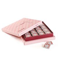 Hoşgeldin Bebeğim Çikolatası 32 Adet Madlen + Sunum Kutusu (Kız) - Thumbnail