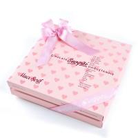 - İlk Diş İsme Özel Kız Bebek Çikolatası (32 Adet Madlen+Sunum Kutusu)