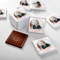 İlk Diş Fotoğraflı Kız Bebek Çikolatası (72 Adet Madlen+Sunum Kutusu) - Thumbnail