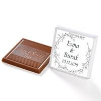 İsimli Nikah Dökme Çikolatası (70 Madlen Çikolata) - Thumbnail