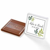 İsimli Söz Nişan Dökme Çikolatası (70 Madlen Çikolata) - Thumbnail