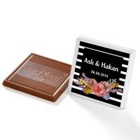 [Kendin Yap] İsimli Söz Nişan Dökme Çikolatası (70 Madlen Çikolata) - Thumbnail