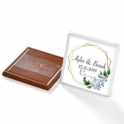 [Kendin Yap] İsimli Söz Nişan Dökme Çikolatası (70 Madlen Çikolata)