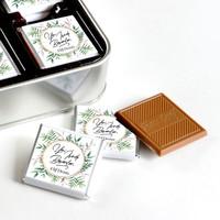 İsme Özel Yeni İş Hediyesi 32 Adet Madlen Çikolata (Metal Kutu) - Thumbnail