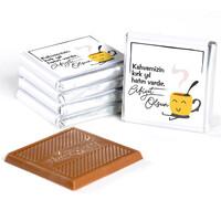 Kahve İkramlığı 32'li Madlen Çikolata (Gold Kutu) - Thumbnail