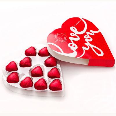 Kalp Kutulu Kalp Sütlü Çikolata