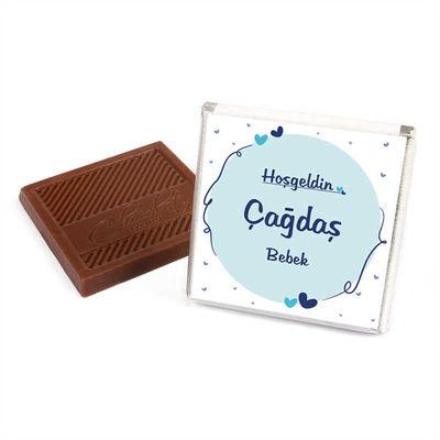 (Kampanya) Erkek Bebek 70 Adet Çikolata+50 Adet Lokum
